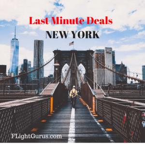 Last Minute Deals to New York from Flightgurus.com
