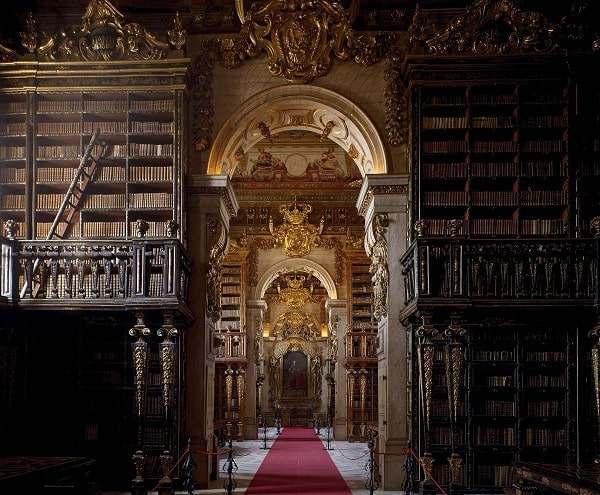 Biblioteca Joanina University of Coimbra Portugal 1