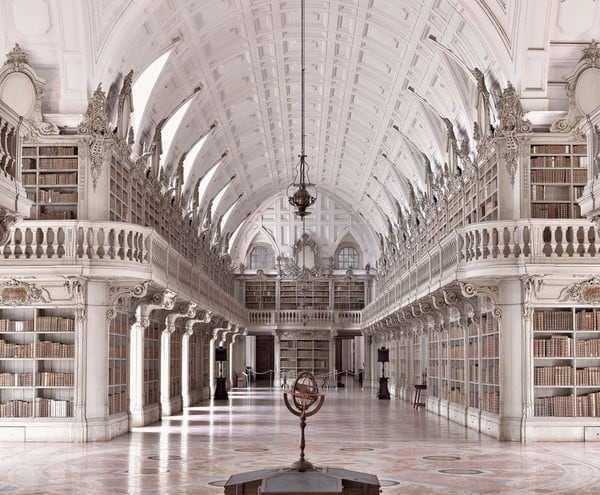 Biblioteca do Convento de Mafra Mafra Portugal