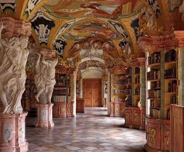 Klosterbibliothek Metten Germany