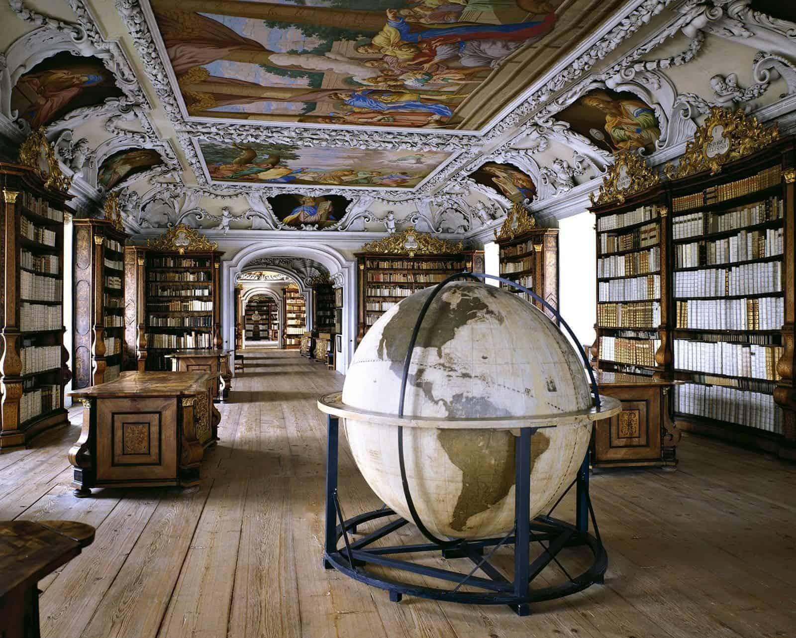 Massimo Listri Biblioteca Abbazia Kremsmunster 1600x1282