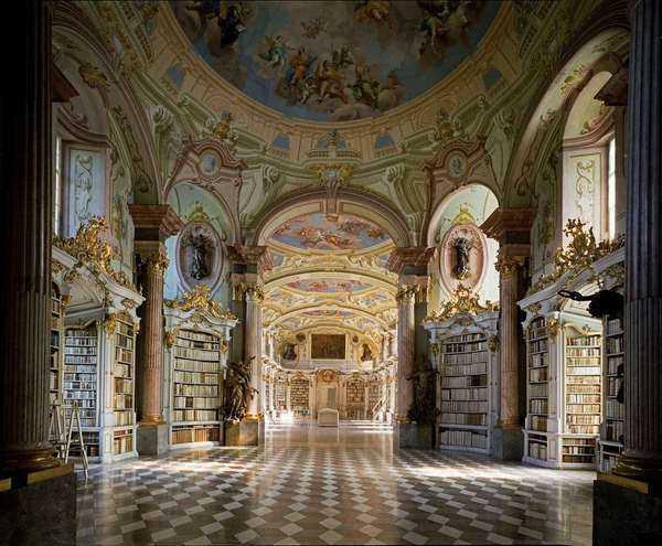 Stiftsbibliothek Admont Abbey Austria