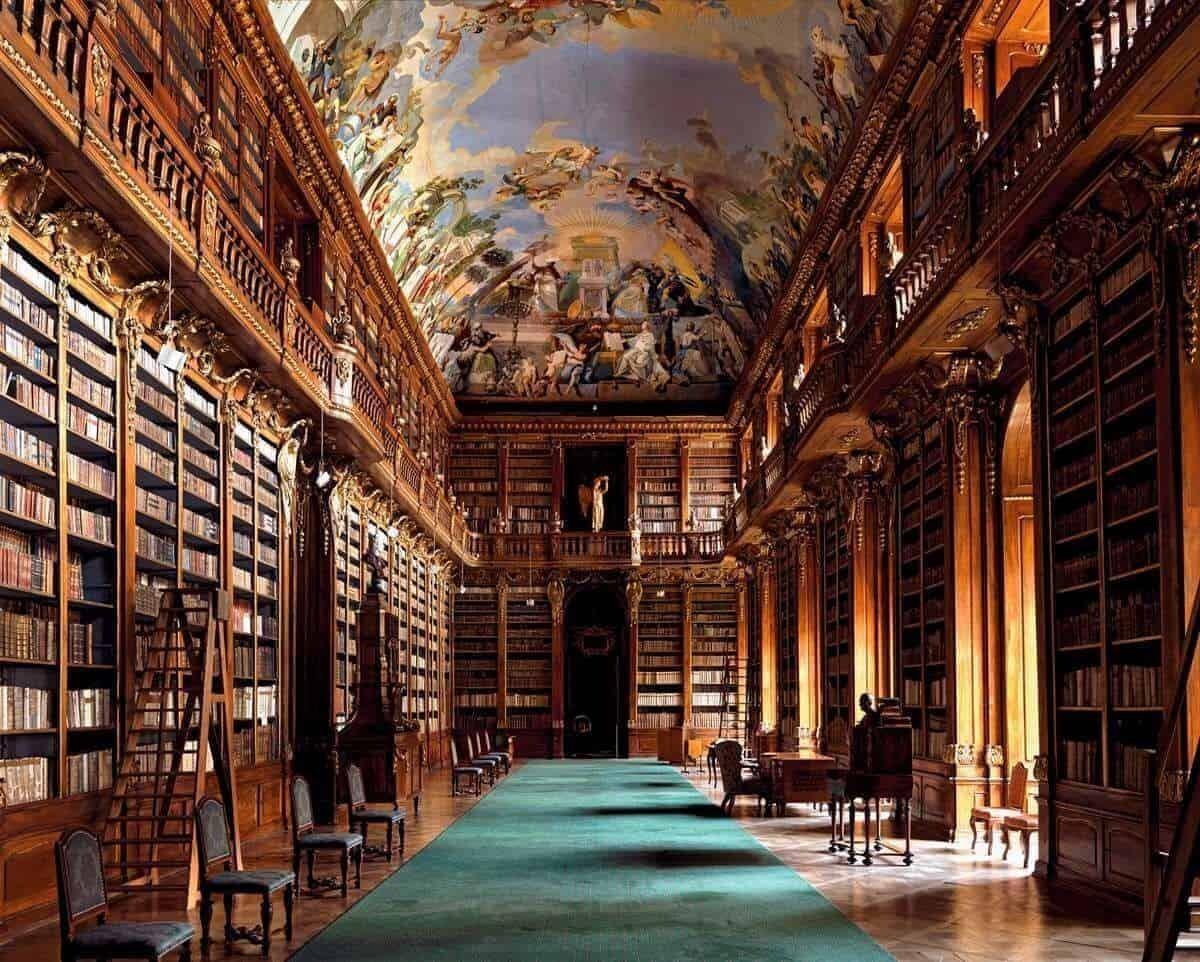 Strahov Abbey Library Strahov Czech Republic at FlightGurus