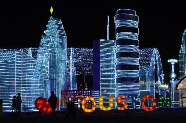 We Love Houston at Magical Winter Lights