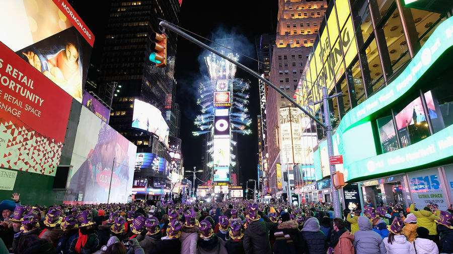 New York City Perhaps the most quintessential New Years Eve of all is found in Times Square in Manhattan.