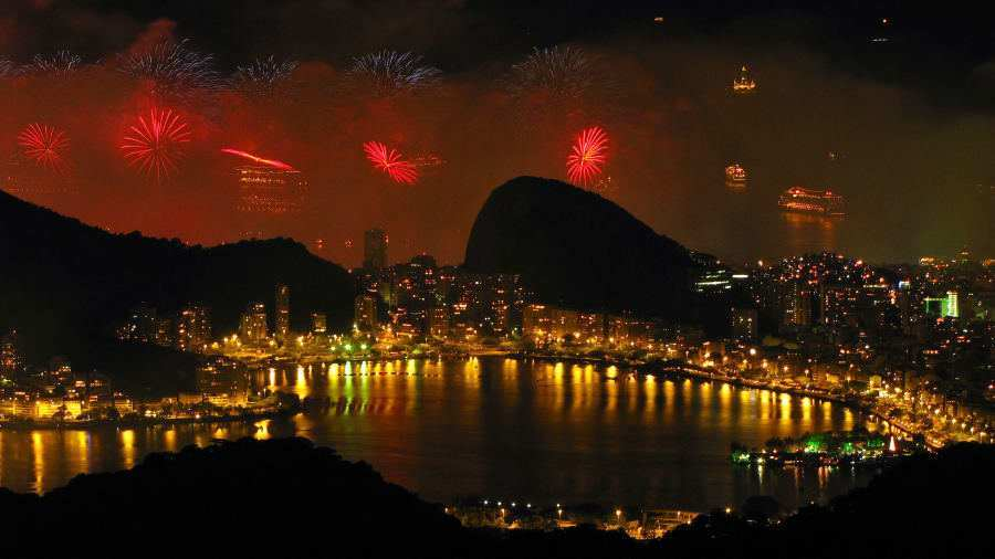 Rio de Janeiro Brazil Welcome the new year with 2 million of your closest pals at South Americas party capital.