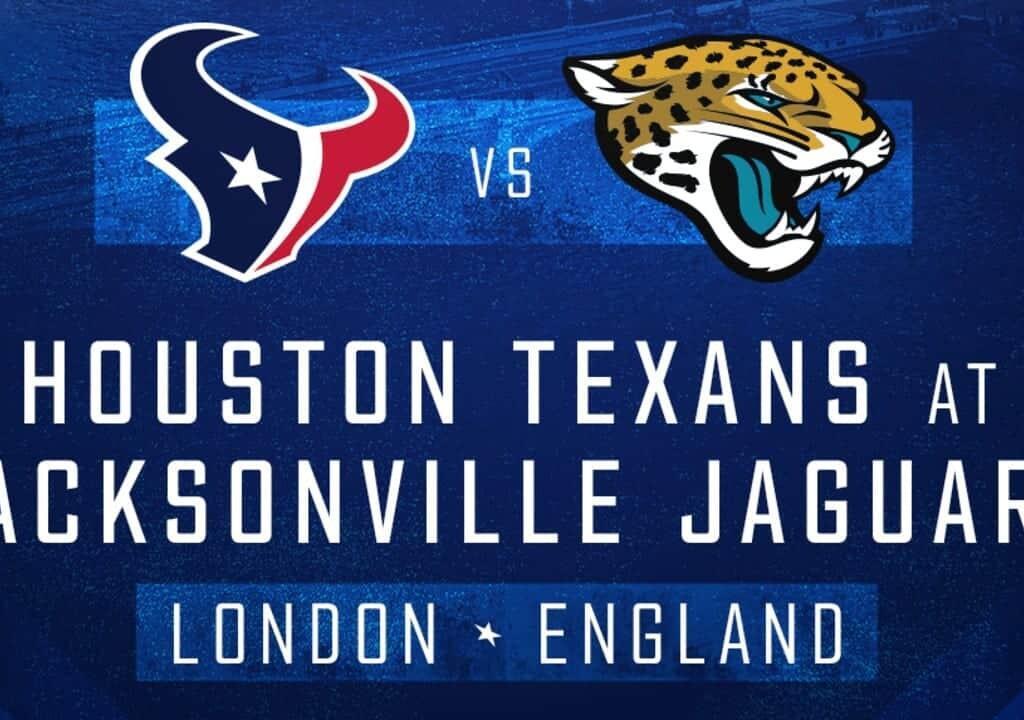 houston texans vs jacksonville jaguars london england 2019